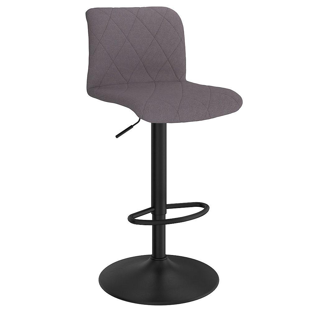 !nspire Set of 2 Modern Upholstered Adjustable Stool