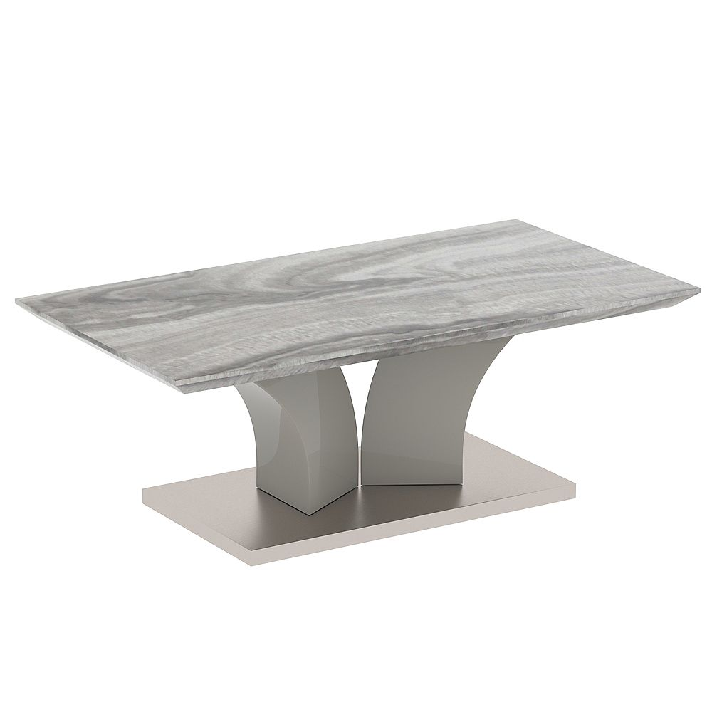 !nspire Contemporary Faux Marble Coffee Table