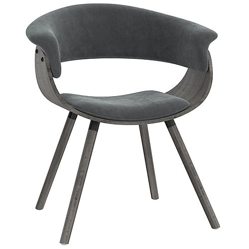 Mid Century Upholstered Accent Chair