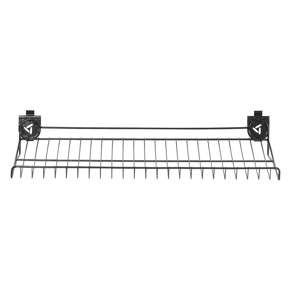Gladiator 30-inch W x 15-inch D Ventilated Shoe Shelf for GearTrack or GearWall