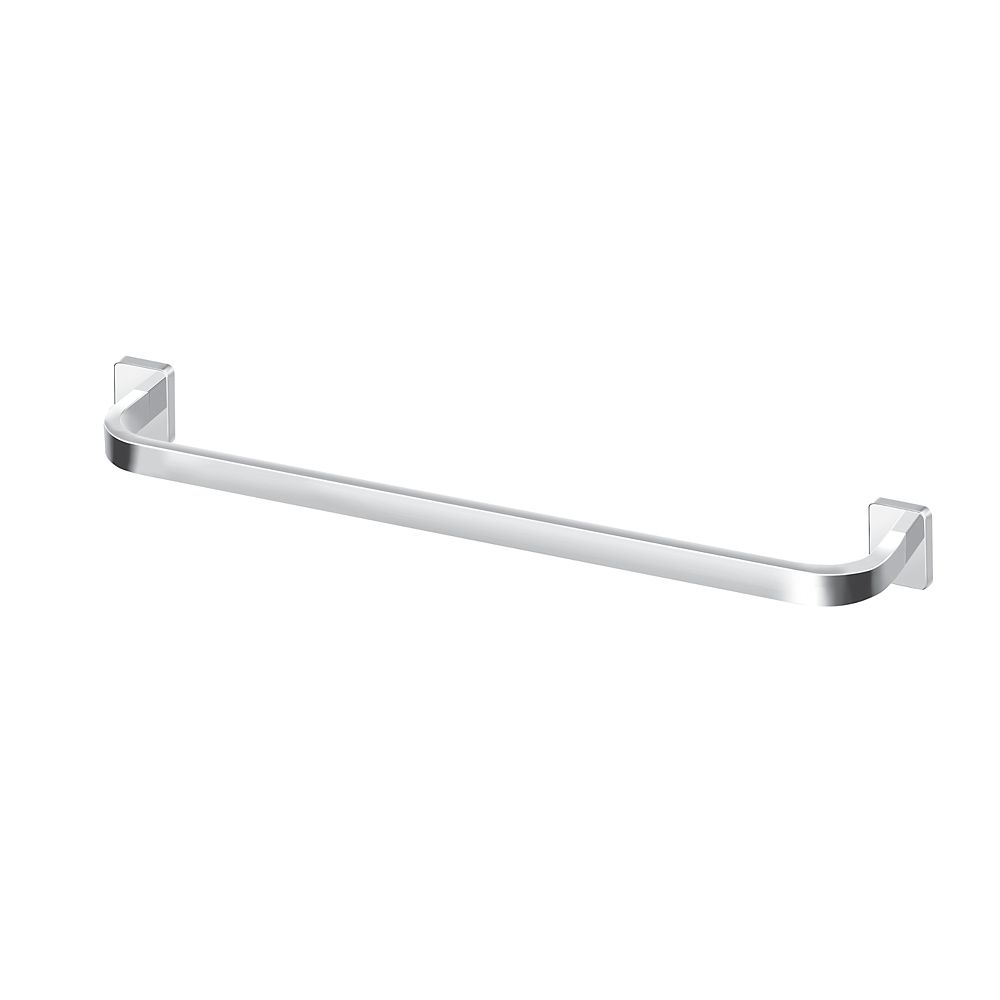 "MOEN Vitric 18"" Towel Bar, Chrome"