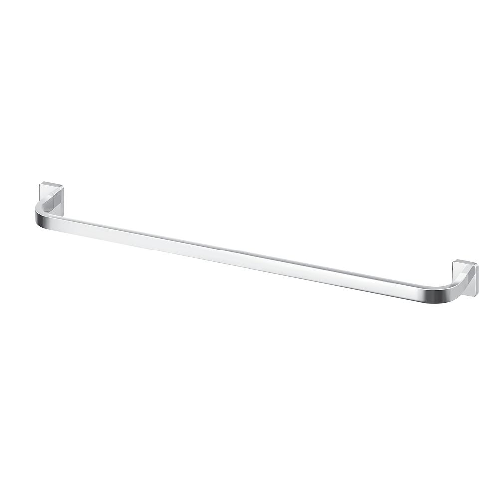 "MOEN Vitric 24"" Towel Bar, Chrome"
