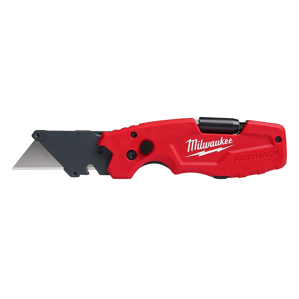 Milwaukee Tool FASTBACK 6-in-1 Folding Knife with 3 -inch Blade