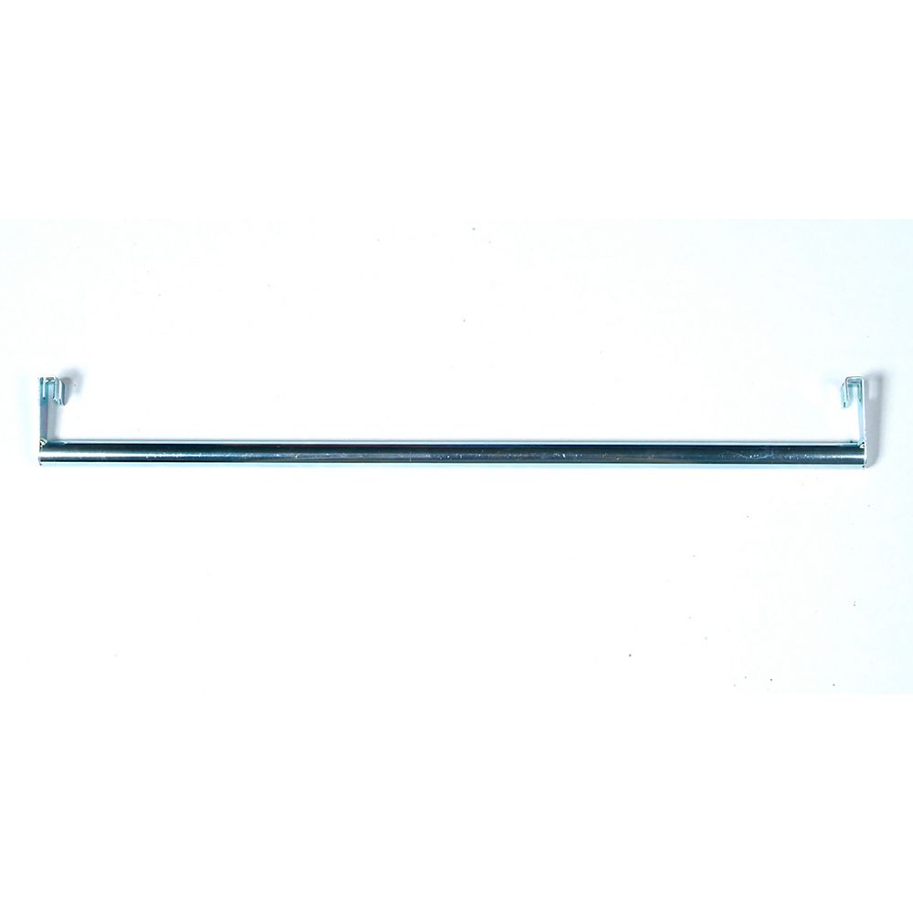 "Triton 31"" L Clothes Hanger Rod  attaches in seconds to the front of the Storability 1720 wire shelf"