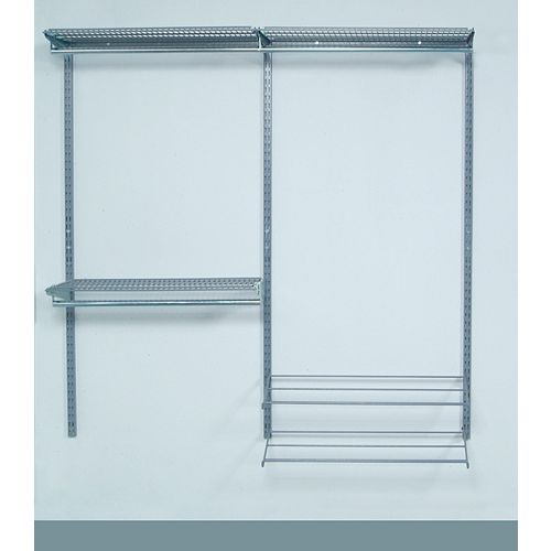 Modular Closet, Garage, and Laundry Organizer Kit