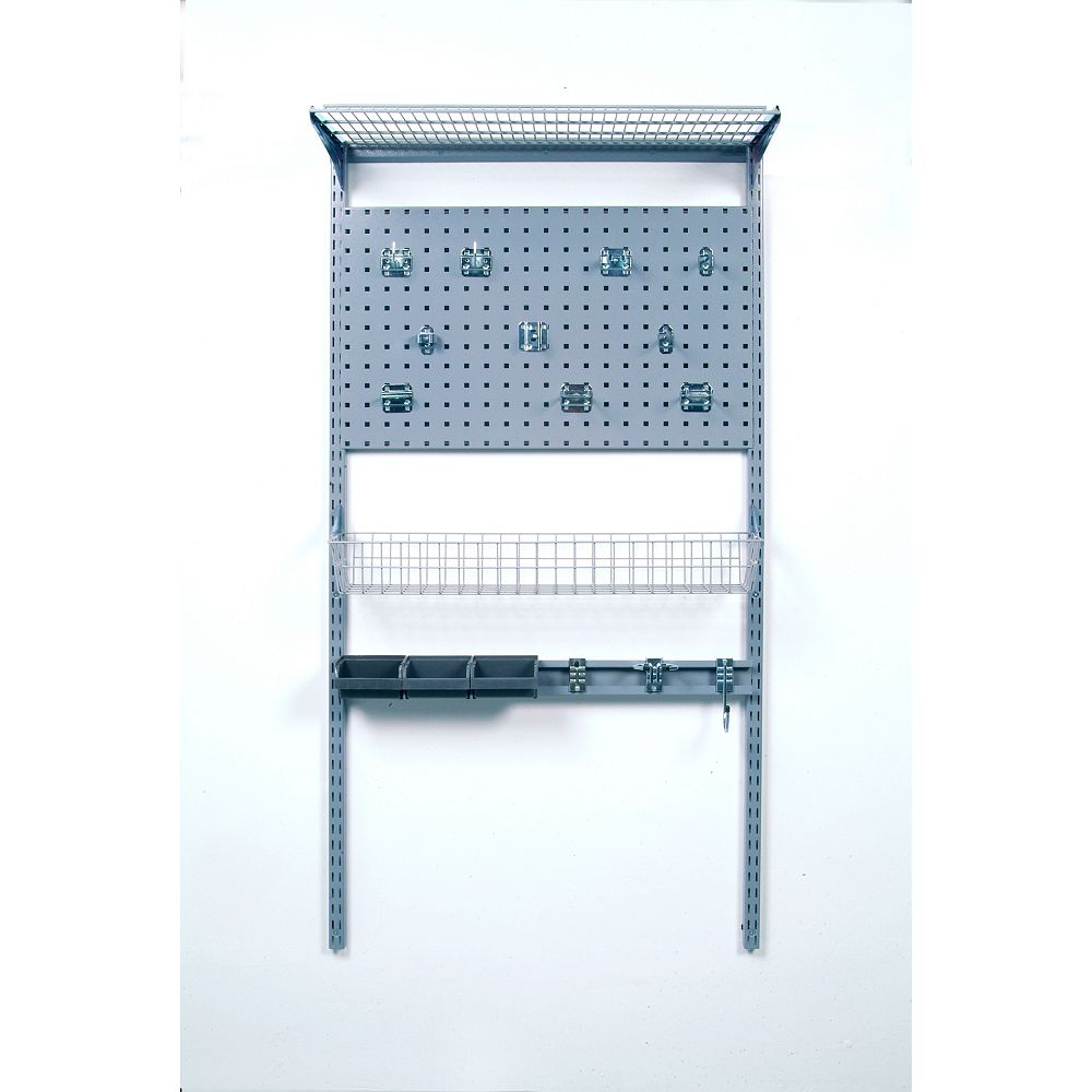 Triton 33 inches L x 63 inches H LocBoard Wall Mount Storage System