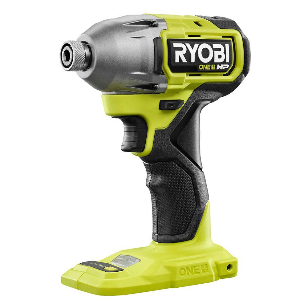RYOBI 18V ONE+ HP Brushless Cordless 4-Mode Impact Driver (Tool-Only)