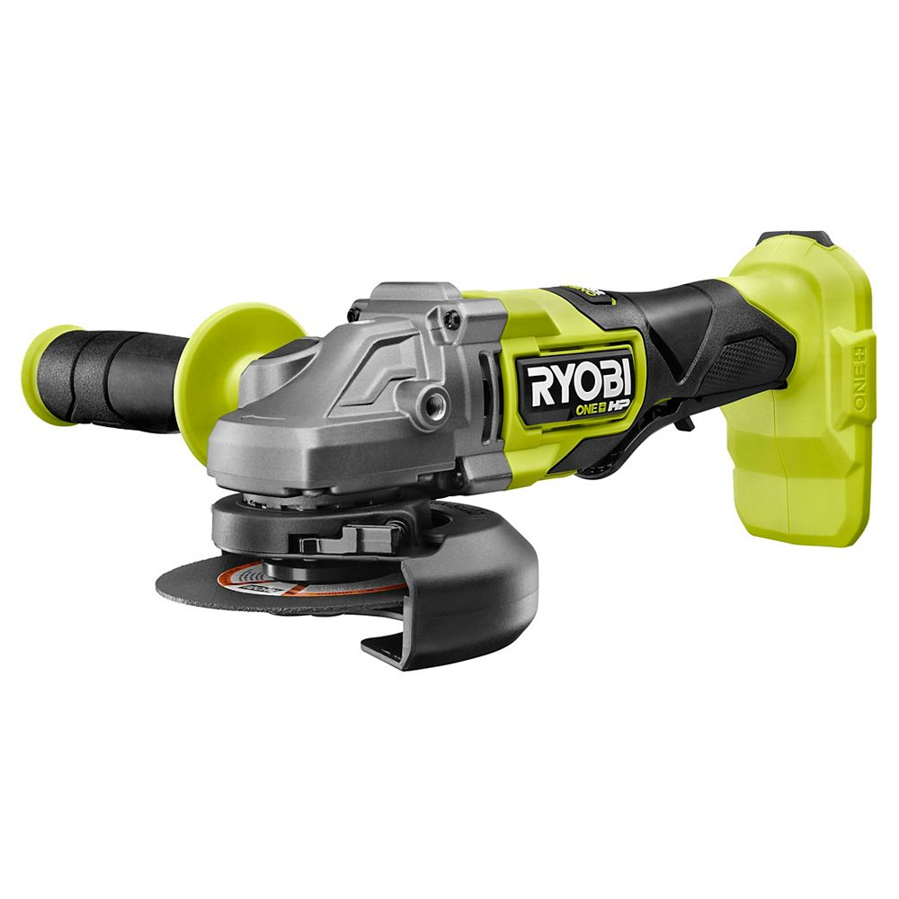 RYOBI 18V ONE+ HP Brushless Cordless 4-1/2-inch Angle Grinder (Tool-Only)