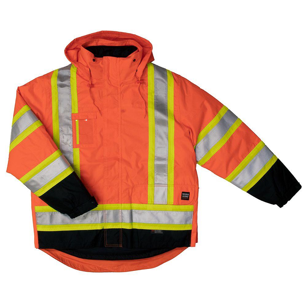 Work King 5 In1 Safety Jacket Flor 4XL