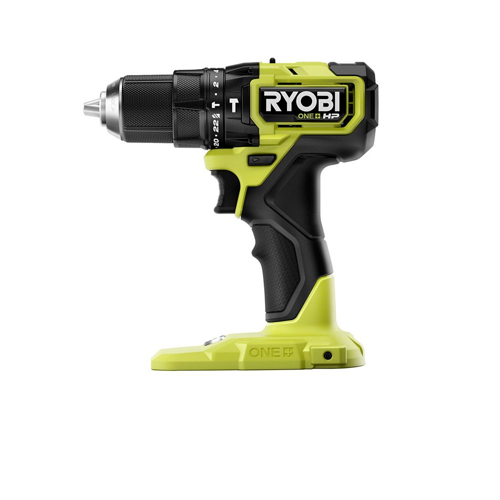 RYOBI 18V ONE+ HP Compact Brushless Hammer Drill (Tool-Only)