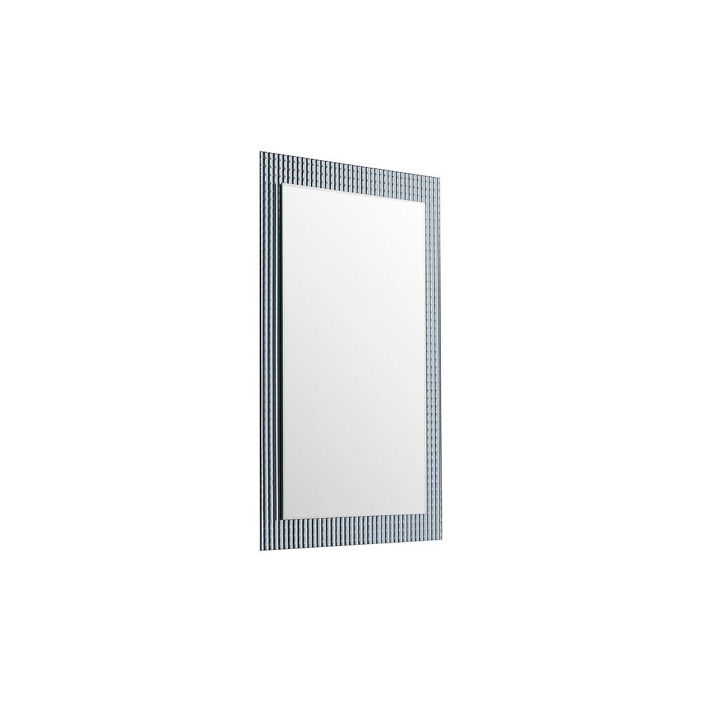 Decor Wonderland 24-inch  x 32-inch Rectangle Frameless Disco Mirror  with beveled Edge and Dual Mounting Brackets