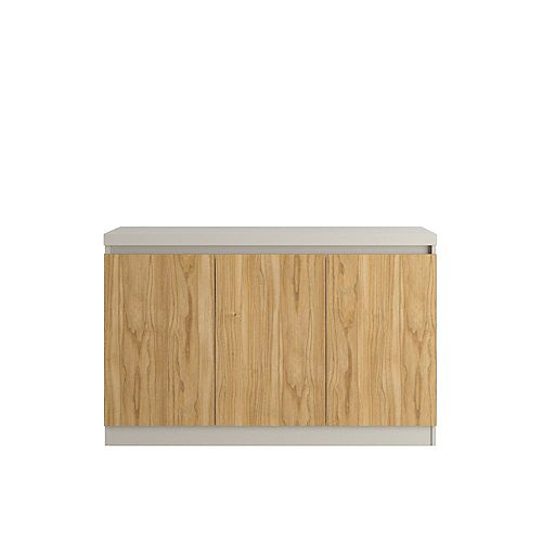 Viennese 46.81 Buffet Stand in Off White and Cinnamon