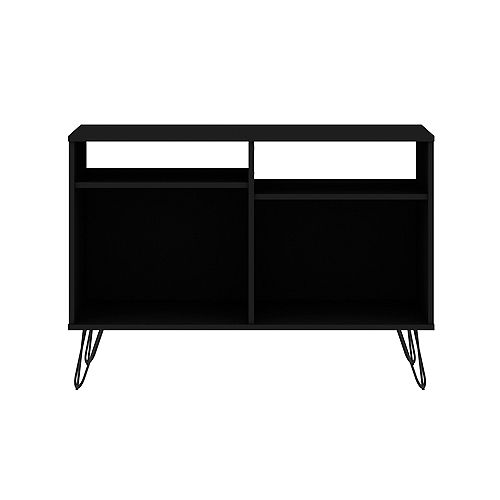 Rockefeller 39.37 TV Stand in Black