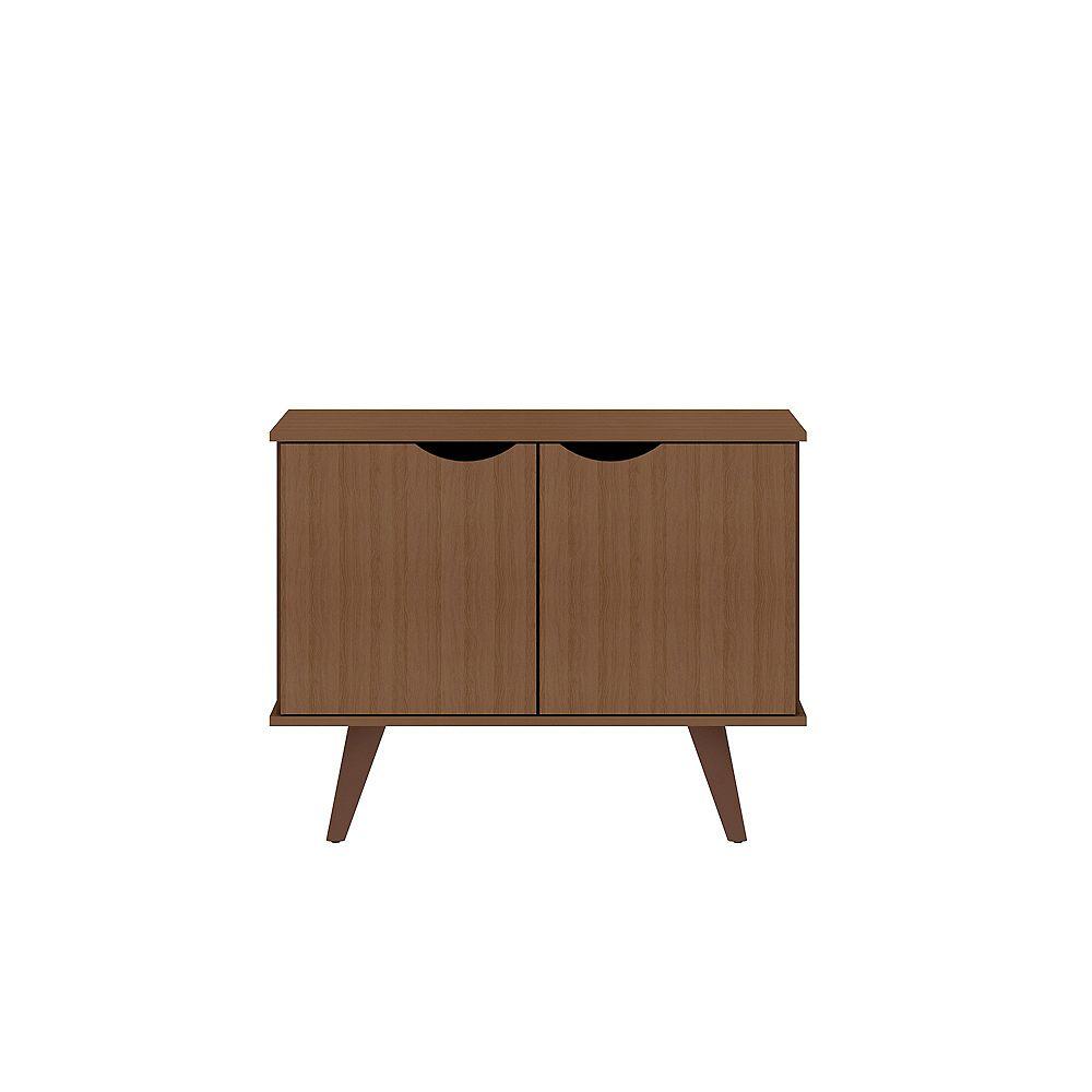 Manhattan Comfort Hampton 33.07 Accent Cabinet in Maple Cream