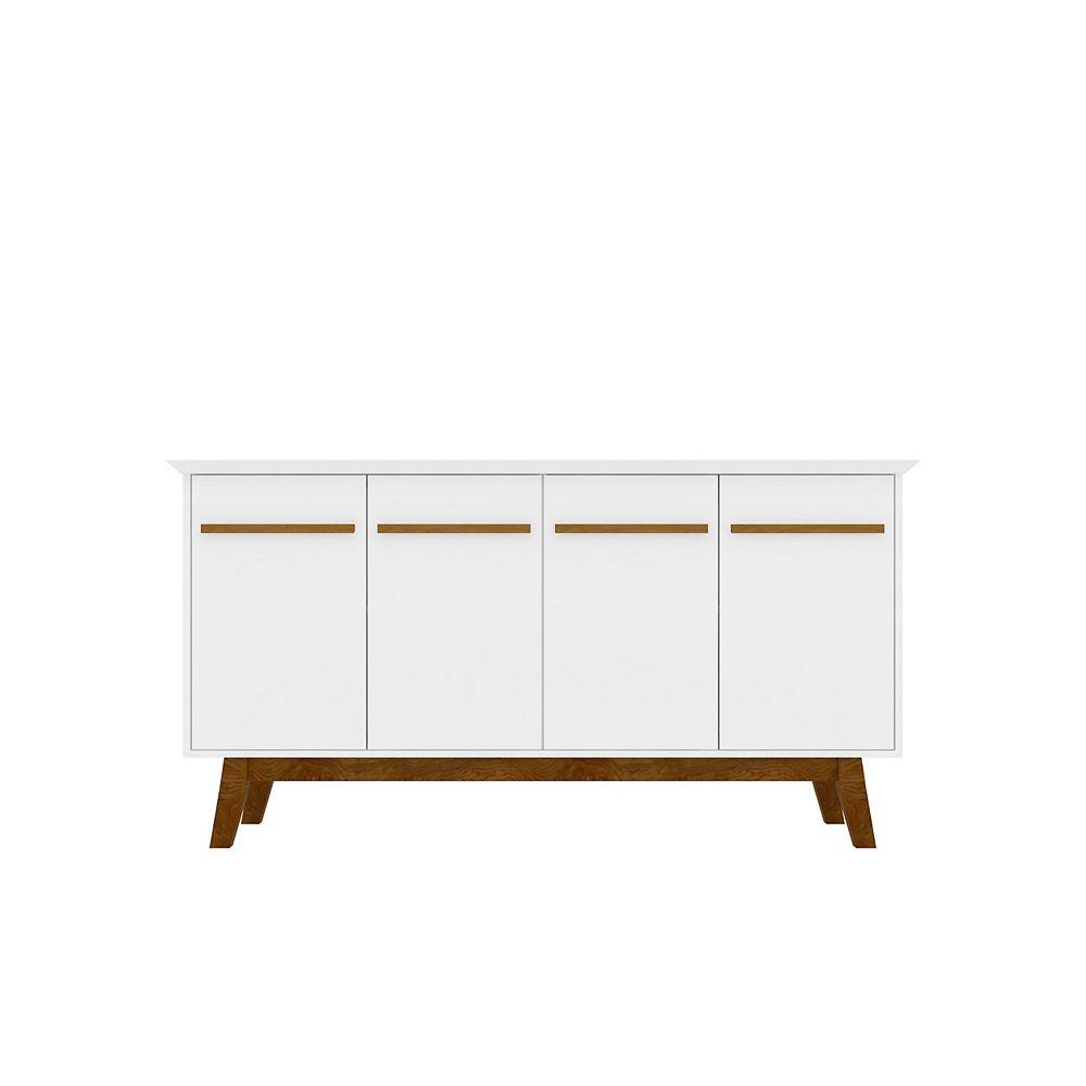 Manhattan Comfort Yonkers 62.99 Sideboard in White