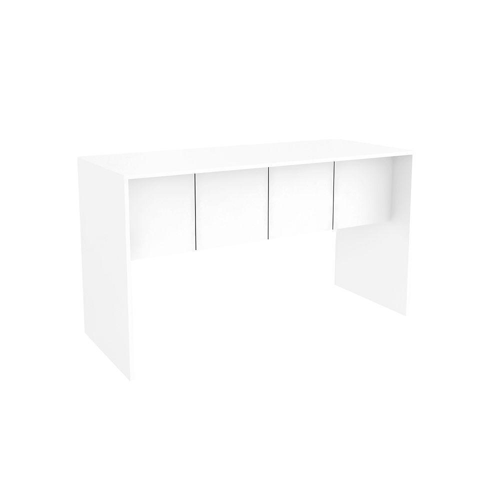 Manhattan Comfort Cornelia 53.10 Desk in White