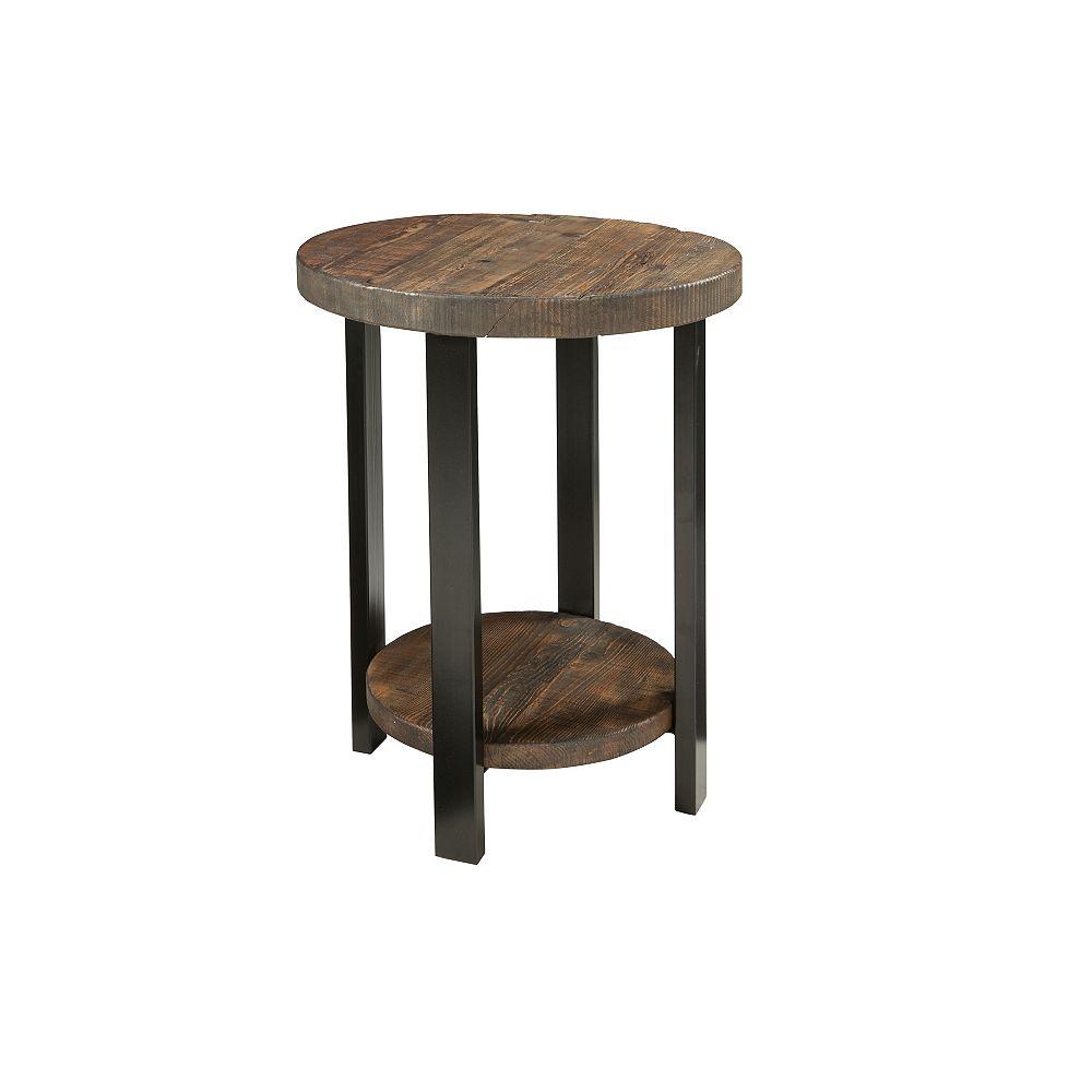 "Alaterre Furniture Pomona 20"" Round End Table"