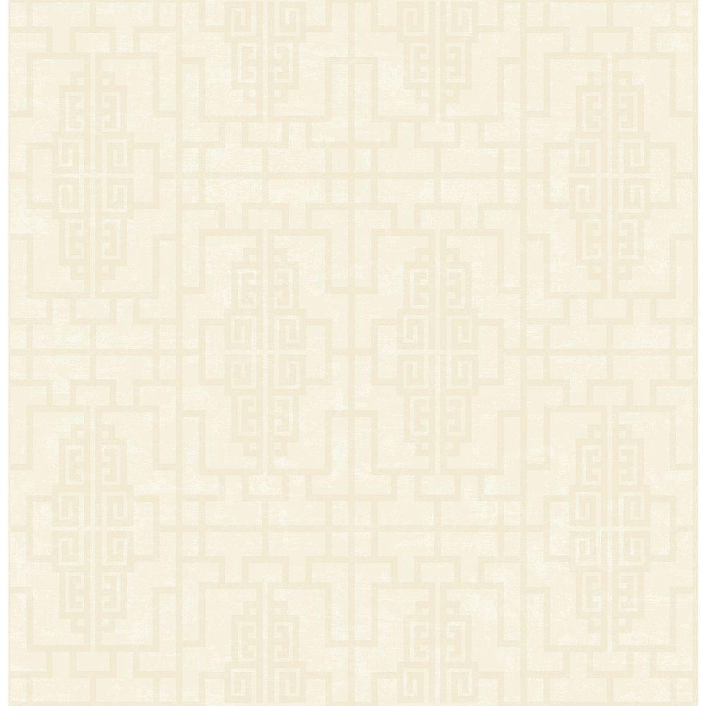 Brewster Home Fashions Umaid Neutral Geometric Wallpaper