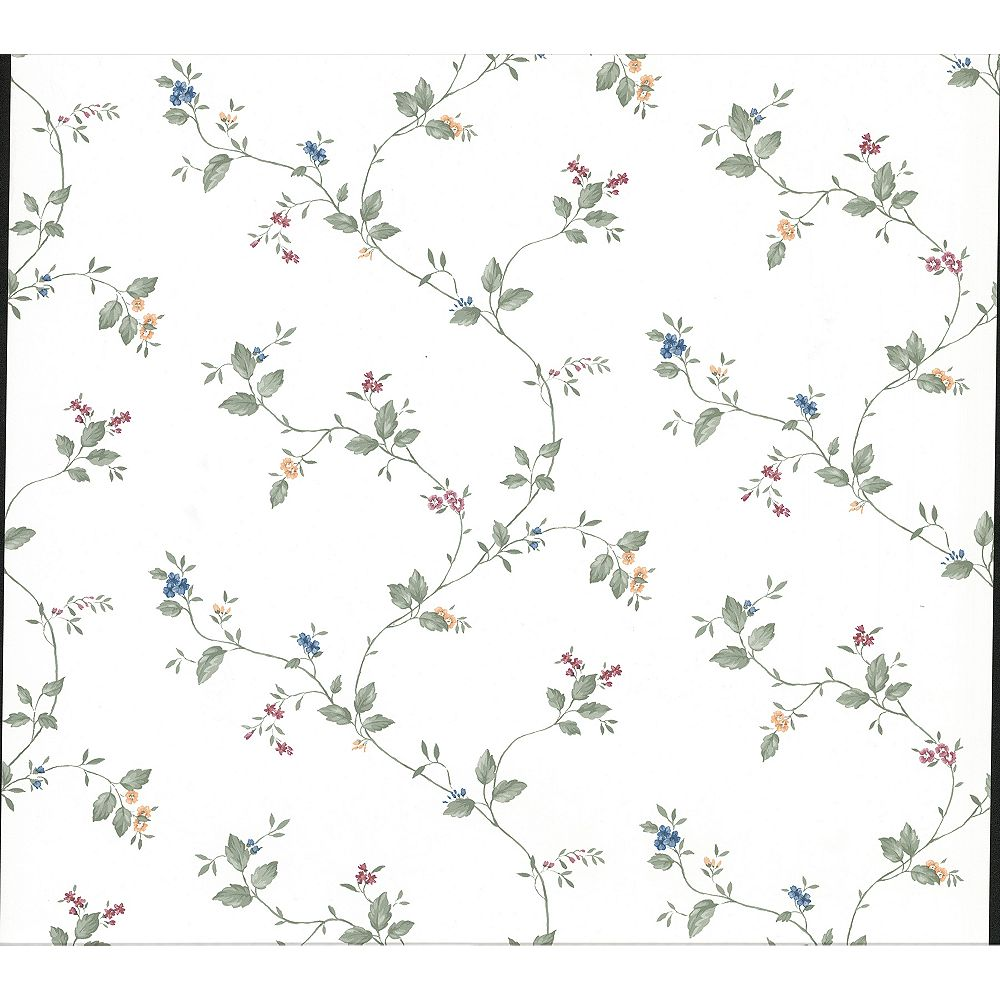Advantage Ree Multicolor Mini Floral Trail Wallpaper