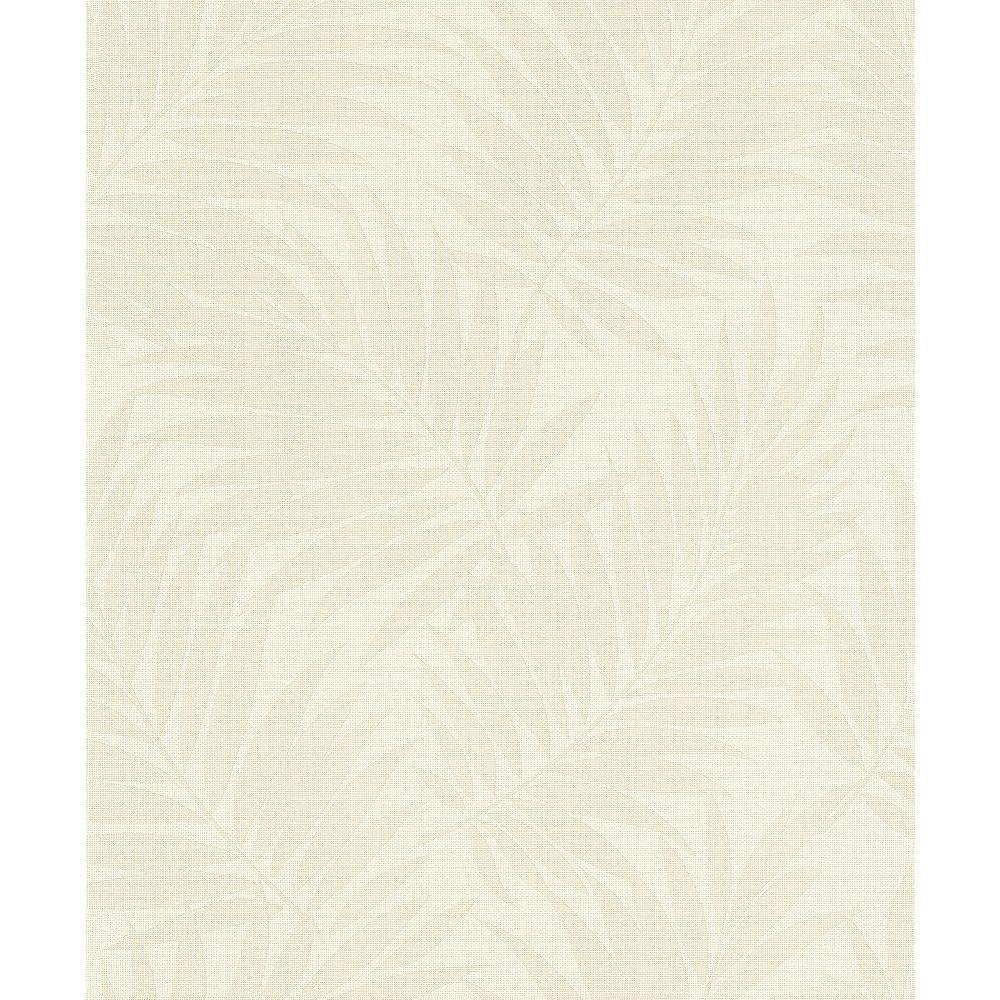 Advantage Regan Ivory Palm Fronds Wallpaper