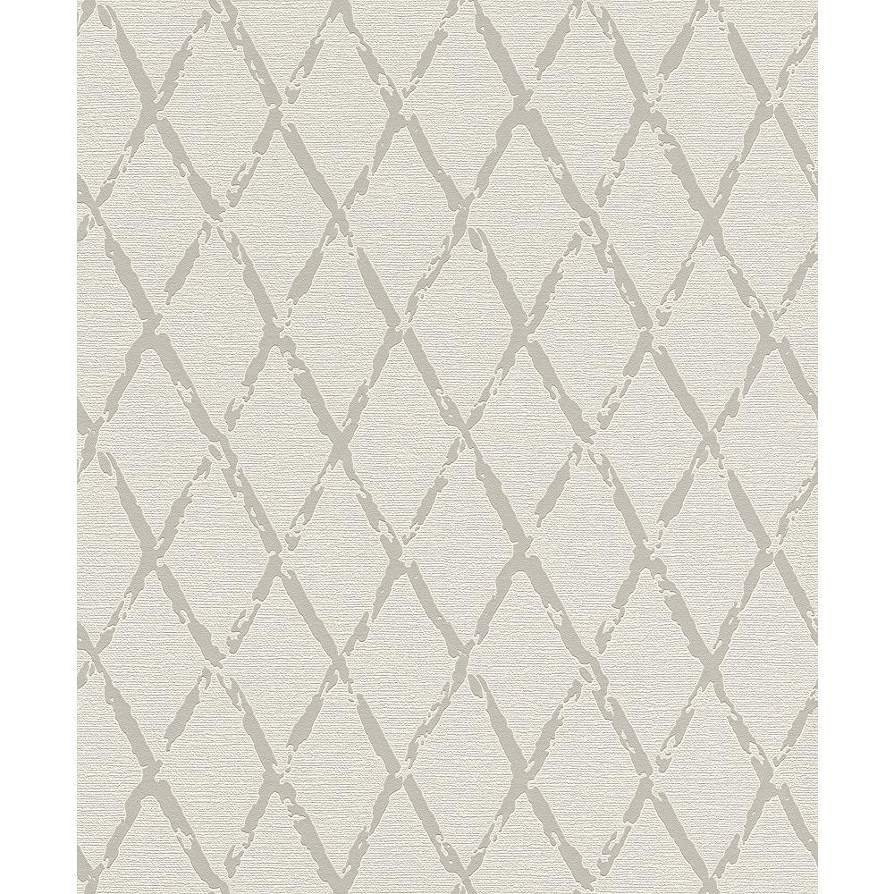 Advantage Duncan Grey Harlequin Wallpaper