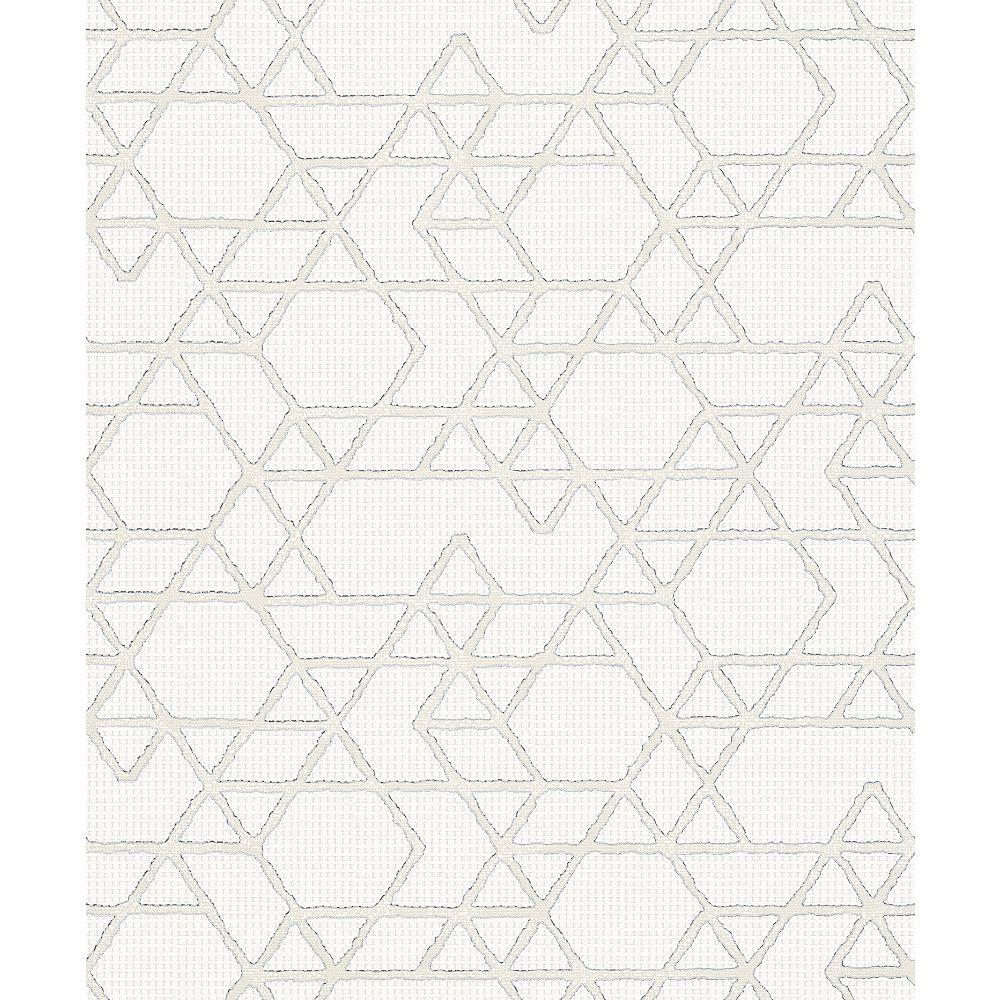 Marburg Montego Off-White Geometric Wallpaper