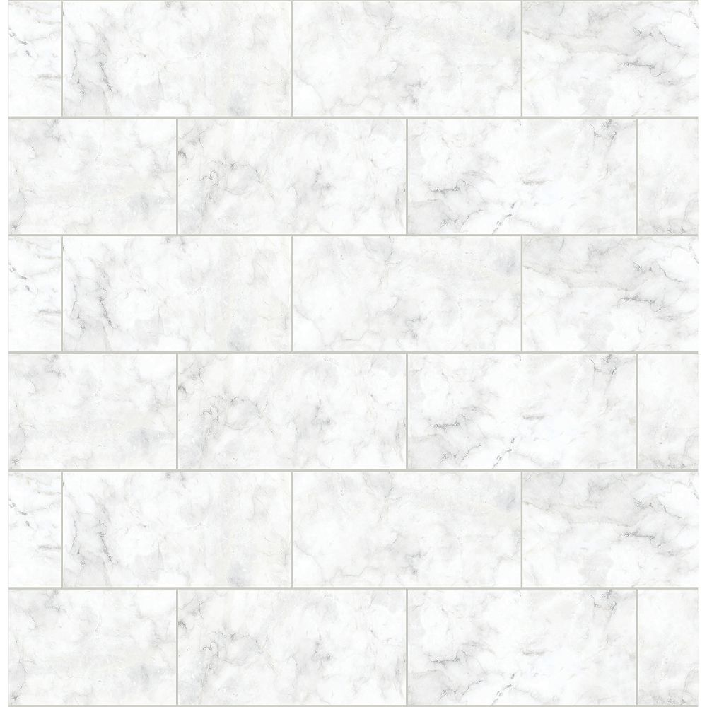 InHome Metro Carrara Peel & Stick Wallpaper