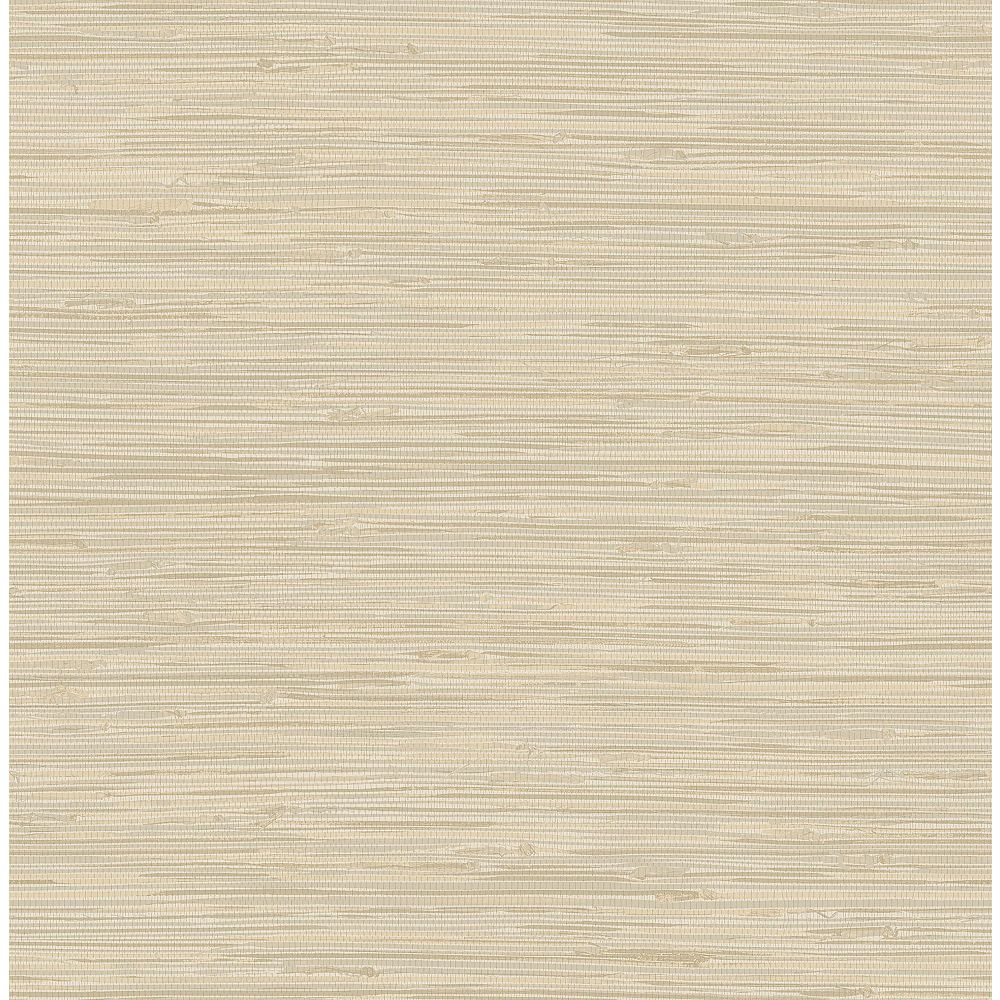 NuWallpaper Tibetan Grasscloth Cream Peel & Stick Wallpaper