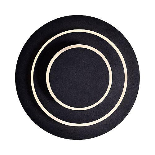LED privée I CWI Murale avec finition noire mat
