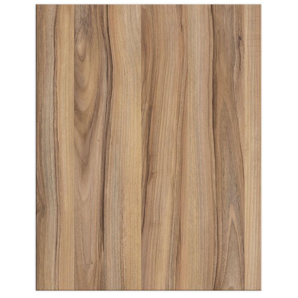 Eurostyle Zurich - Door 18 x 23 inch - Light Walnut Melamine