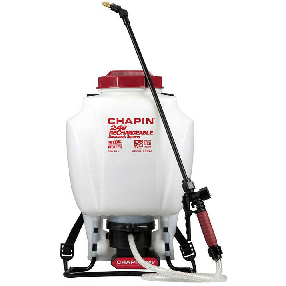 Chapin International 4 Gal/15L 24V Rechargeable Backpack Sprayer