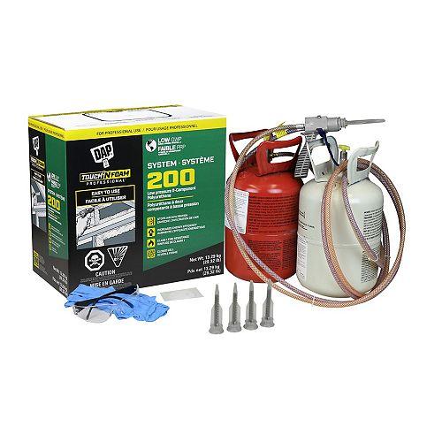 Touch 'n' Foam Professional 2-Component Spray Foam Insulation Kit low GWP
