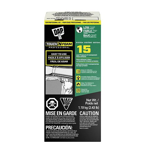 System 15 2-Component Spray Foam Kit low GWP