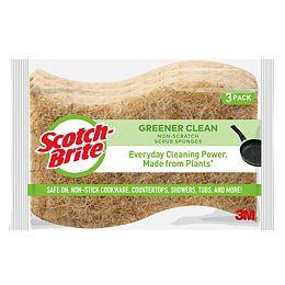 Éponge à récurer antiégratignures Greener Clean
