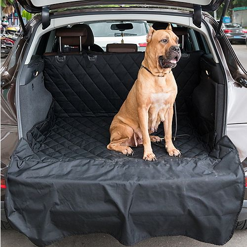 SUV Pet Cargo Liner Trunk Housse lavable Materia Protège contre les rayures Marques