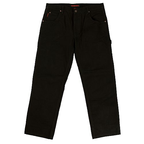 Washed Duck Pant Blk 40/30