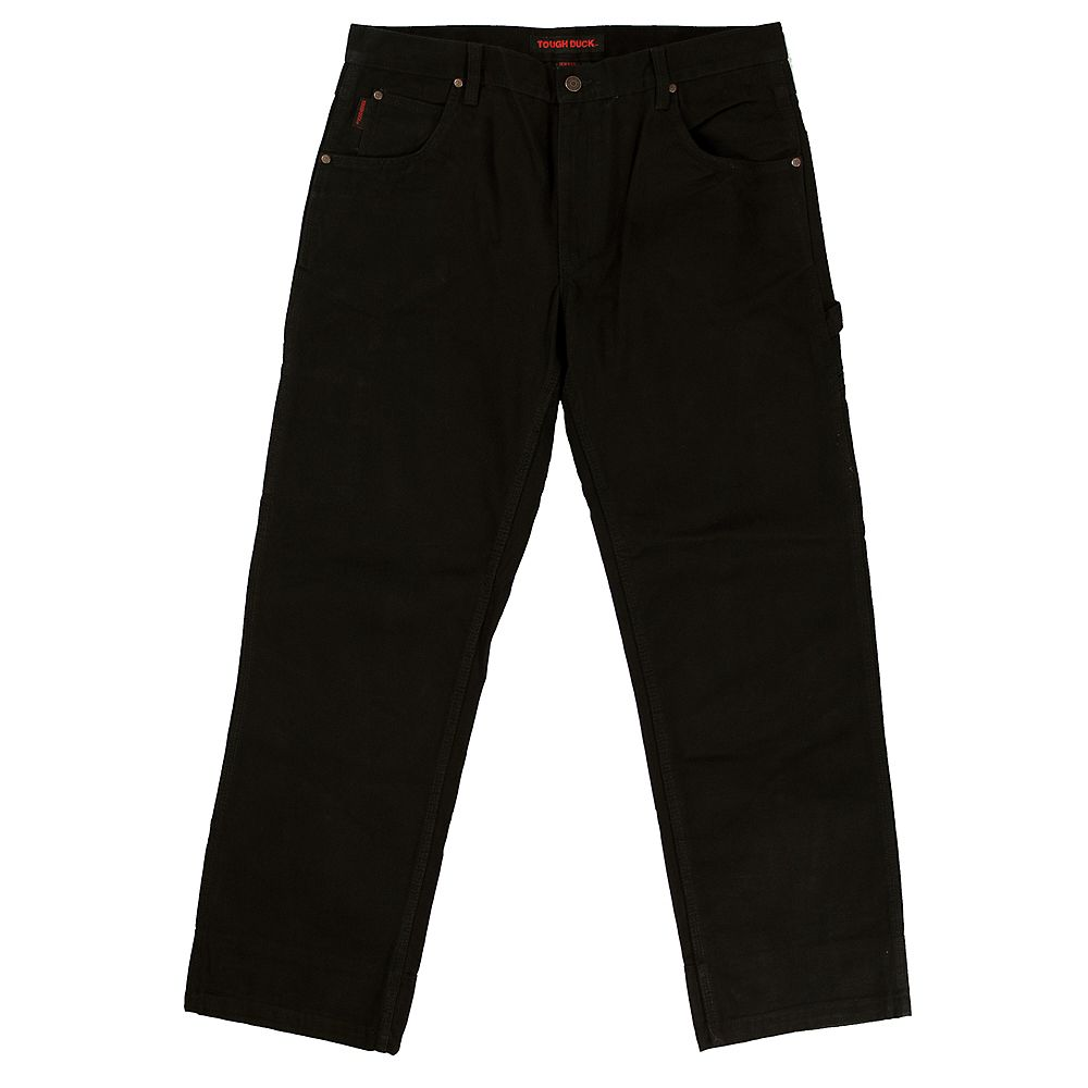 Tough Duck Washed Duck Pant Blk 32/34