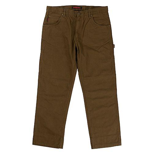 Pantalon En Duck Délavé BRN 32/30
