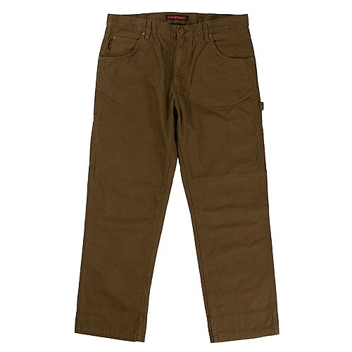 Pantalon En Duck Délavé BRN 38/32