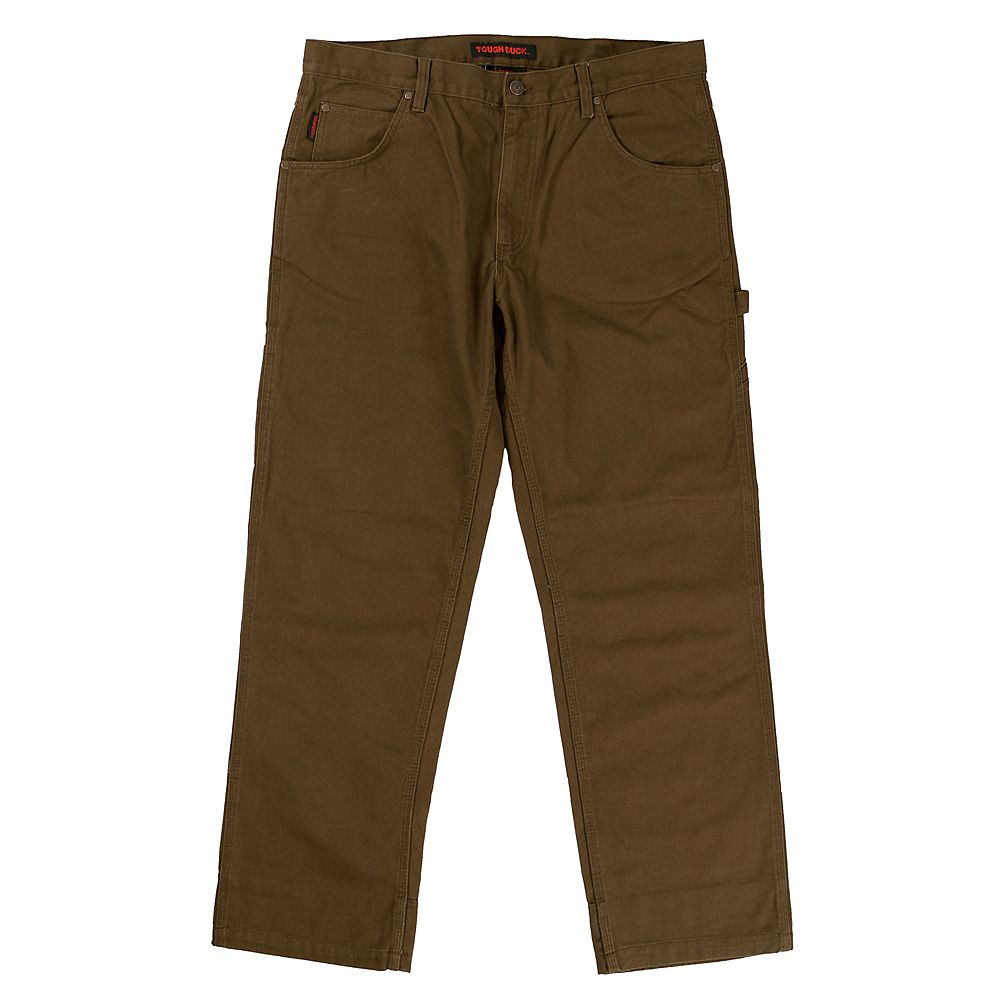 Tough Duck Washed Duck Pant Brn 42/34