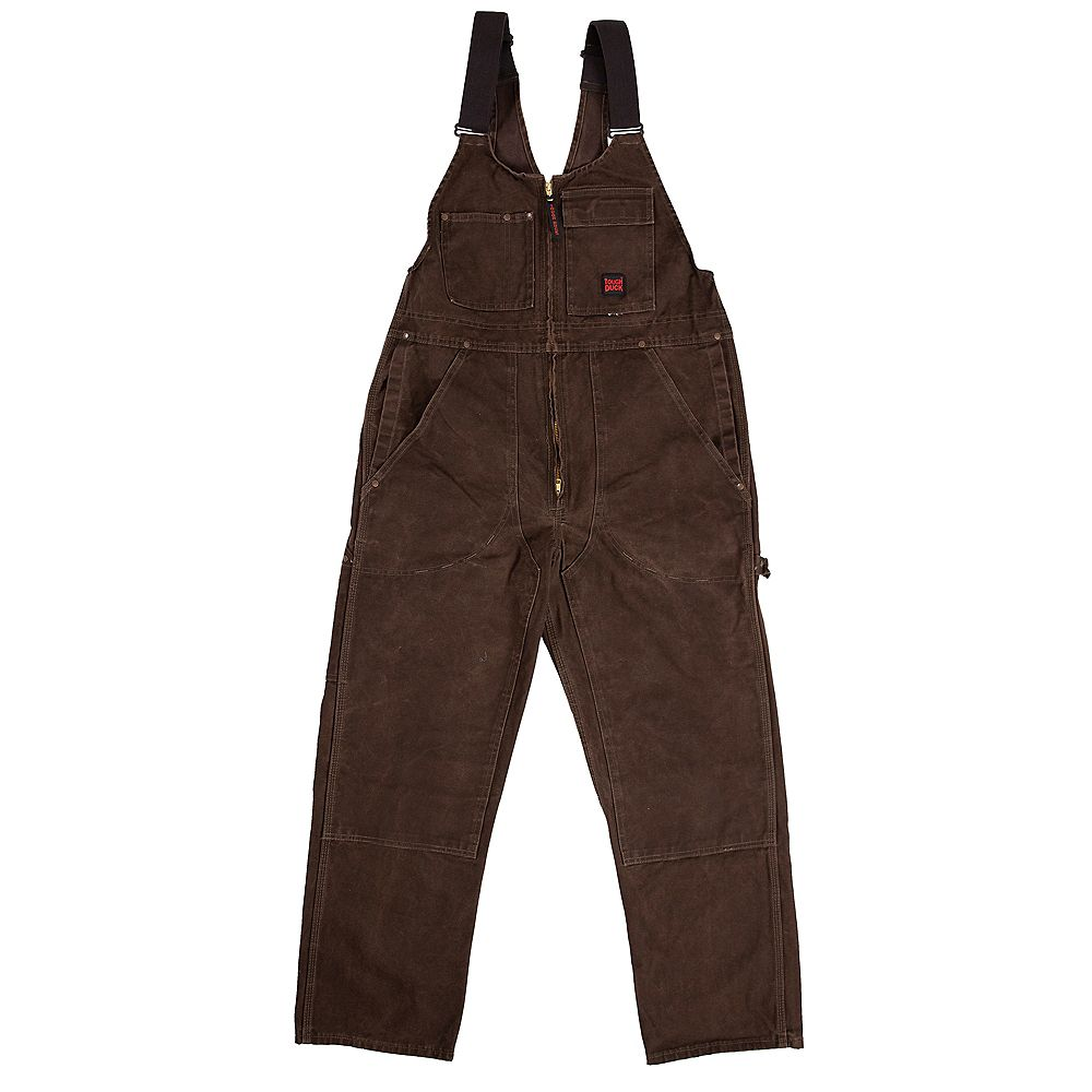 Tough Duck Td Washed Unlined Overall Dkbr L