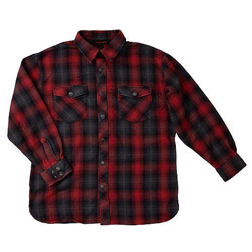 Flannel Overshirt Rd Pl L