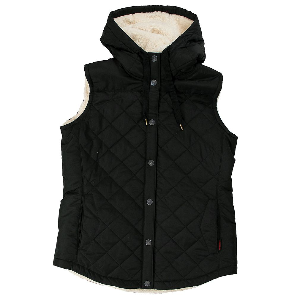 Tough Duck Quilted Sherpa Lined Vest Xl