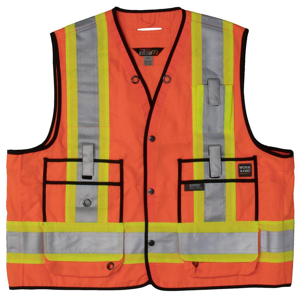 Tough Duck Surveyor Safety Vest Flor L