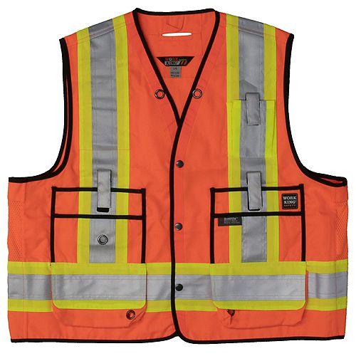 Veste darpenteur de sécurité FLOR XL