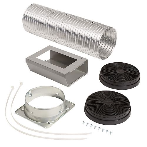 Broan-NuTone Optional Recirculation Kit for Ductless installation for Broan BWP1 range hoods