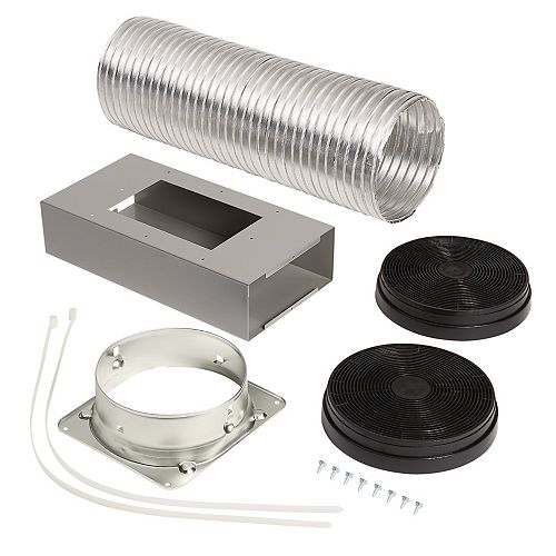 Broan-NuTone Optional Recirculation Kit for Ductless installation Broan BWS1 range hoods