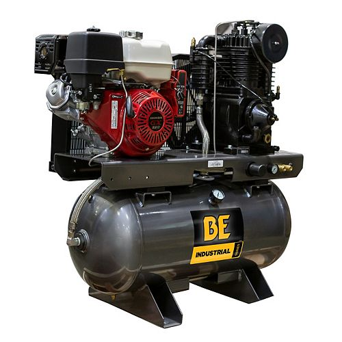 23 CFM @ 175 PSI - 30 Gallon Truck Mount Air Compressor with Honda GX390 Engine