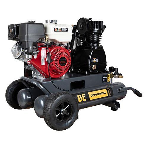 17.7 CFM @ 175PSI - 8 Gallon Air Compressor with Honda GX270 Engine
