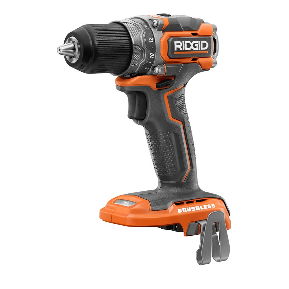 RIDGID 18V Brushless Cordless Sub-Compact 1/2-inch Drill/Driver (Tool Only)